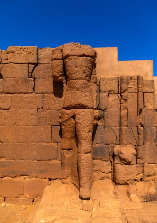 The great enclosure in Musawwarat es-sufra meroitic temple complex, Nubia, Musawwarat es-Sufra, Sudan