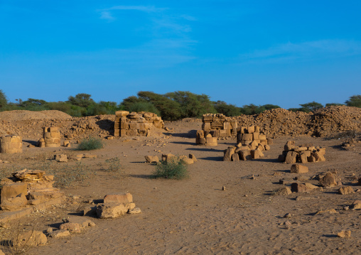 Royal city, Northern State, Meroe, Sudan