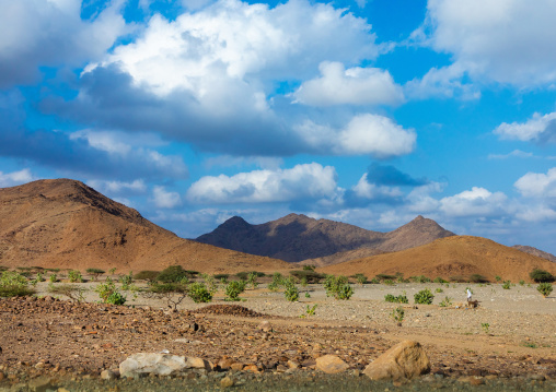 Mountainous landscape, Red Sea State, Suakin, Sudan