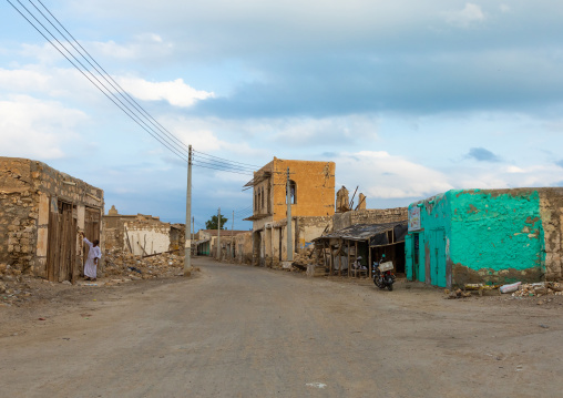 Old buildings on mainland, Red Sea State, Suakin, Sudan