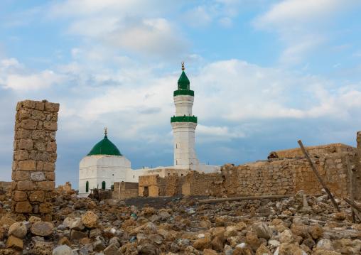 El-Geyf mosque, Red Sea State, Suakin, Sudan