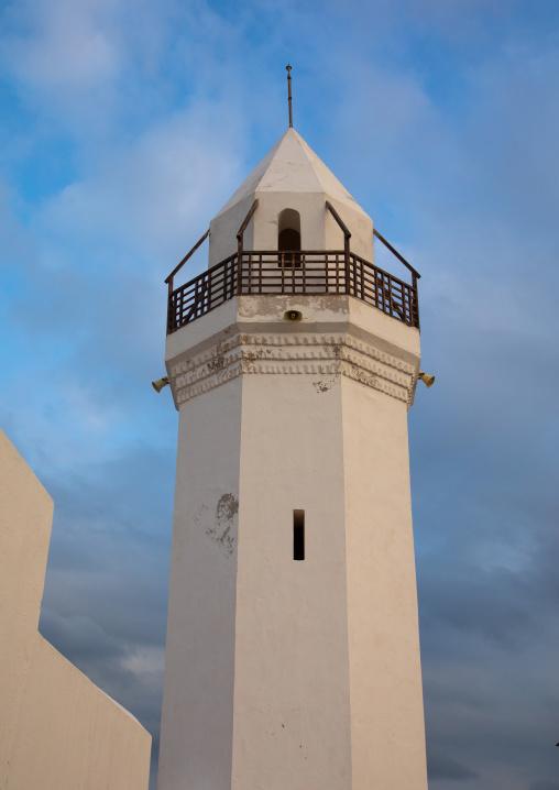 The renovated Hanafi mosque, Red Sea State, Suakin, Sudan