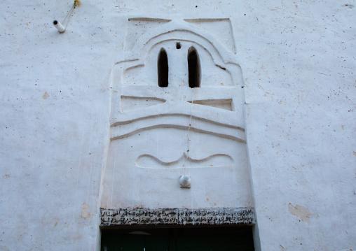 El-Geyf mosque entrance, Red Sea State, Suakin, Sudan