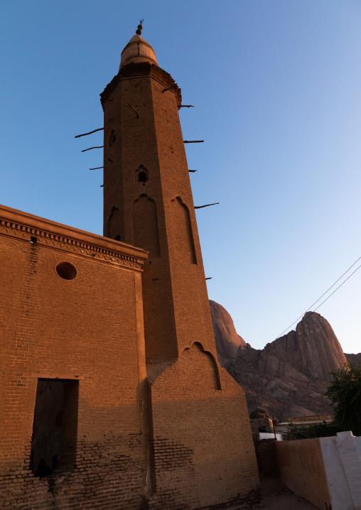 Khatmiyah mosque minaret, Kassala State, Kassala, Sudan