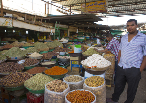 Sudan, Khartoum State, Omdurman, the spice market