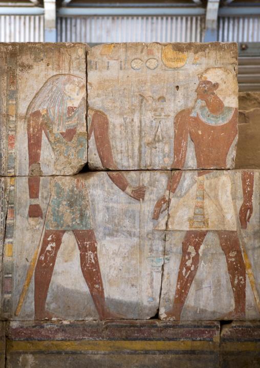 Sudan, Khartoum State, Khartoum, buhen temple in the the national museum of sudan