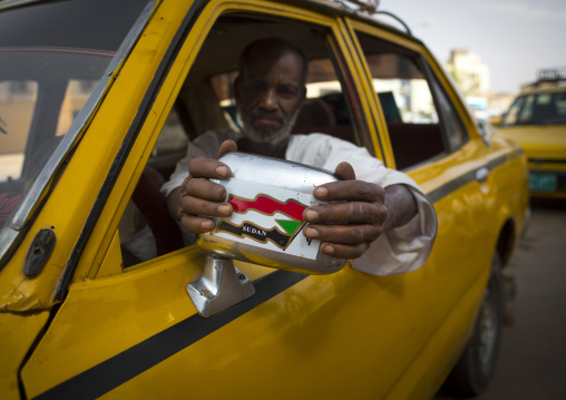 Sudan, Khartoum State, Khartoum, taxi driver