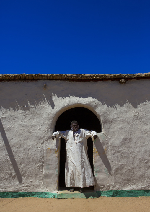 Sudan, Northern Province, Gunfal, traditional nubian architecture