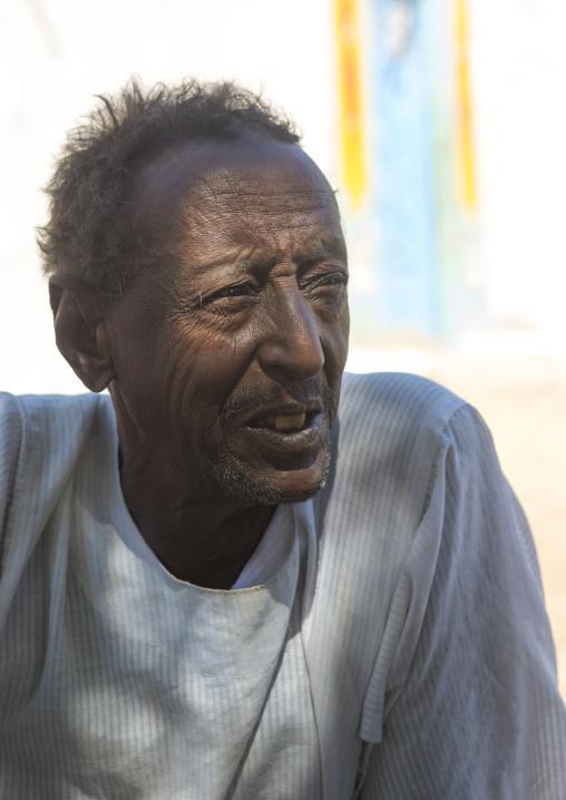Sudan, Northern Province, Gunfal, nubian man