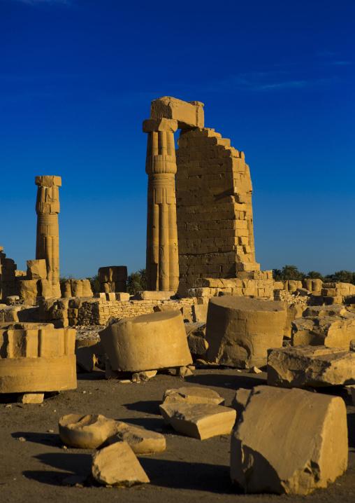 Sudan, Nubia, Soleb, the big soleb temple built by amenophis iii
