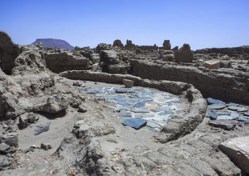 Sudan, Nubia, Sai island, old temple ruins