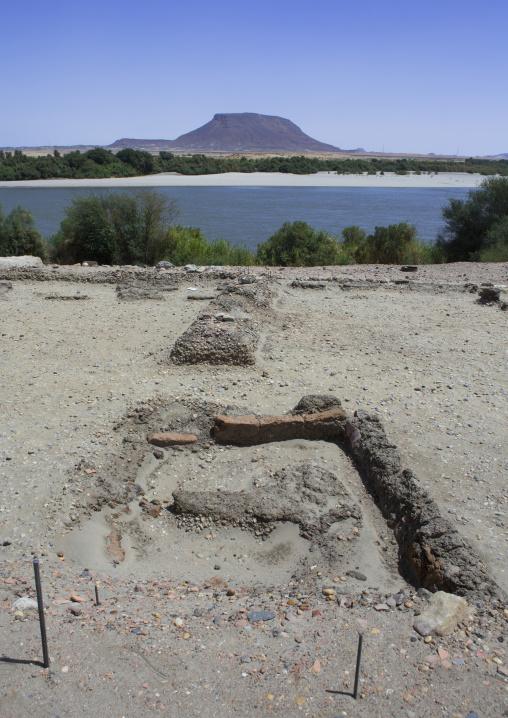 Sudan, Nubia, Sai island, jebel abri