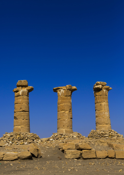 Sudan, Northern Province, Delgo, new kingdom fort and aten temple of sesebi built by amenophis iv