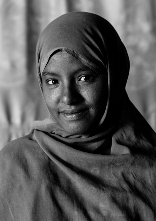 Sudan, Kush, Bagrawiyah, nubian girl