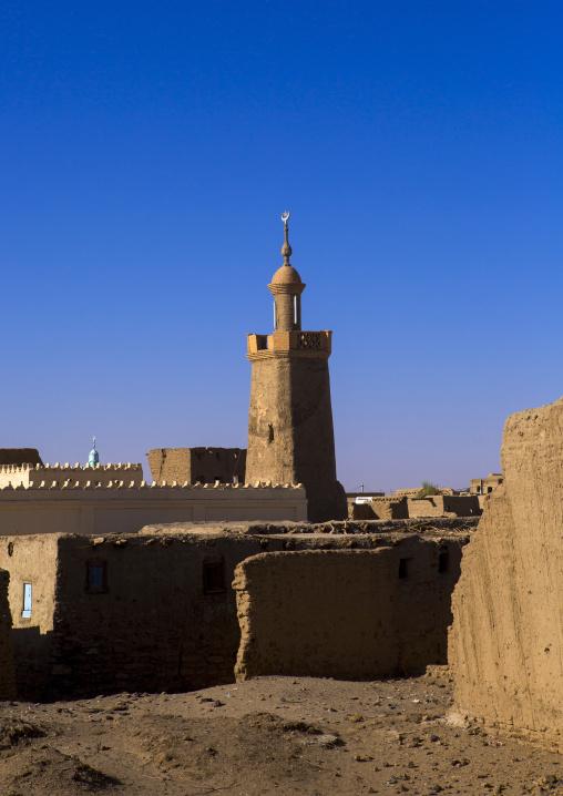 Sudan, River Nile, Al-Khandaq, the khatibiyya mosque