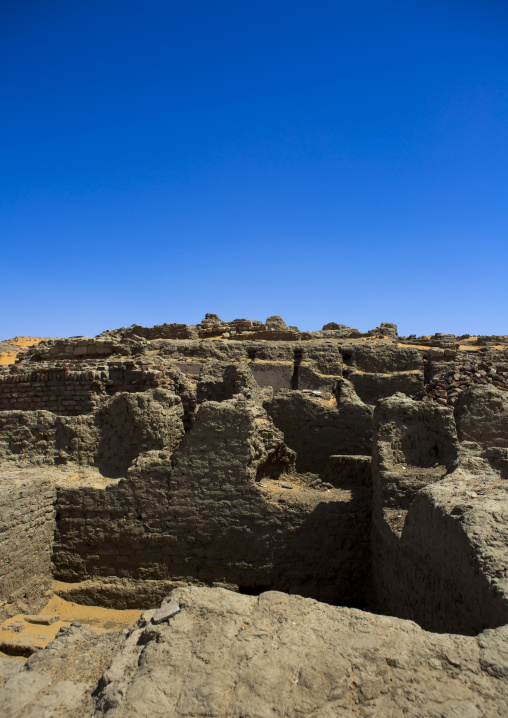Sudan, Nubia, Old Dongola, the ruins of the medieval city of old dongola