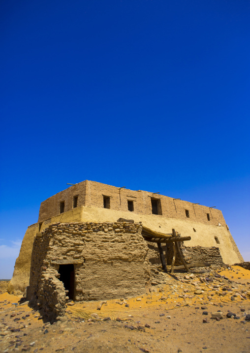 Sudan, Nubia, Old Dongola, the throne hall