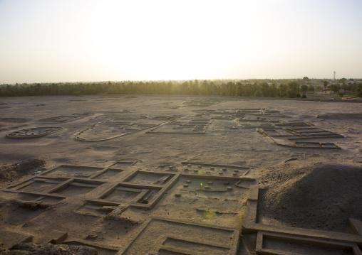 Sudan, Northern Province, Kerma, western deffufa ruins