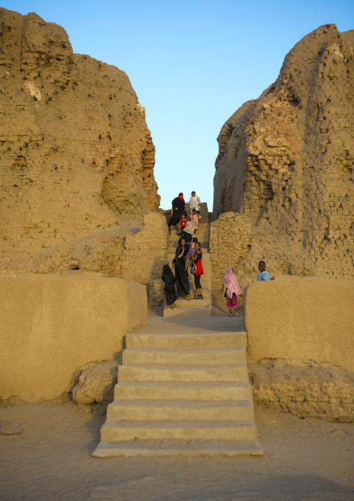 Sudan, Northern Province, Kerma, ruins of the western deffufa
