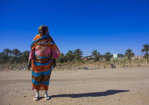 Sudan, Nubia, Tumbus, sudanese woman