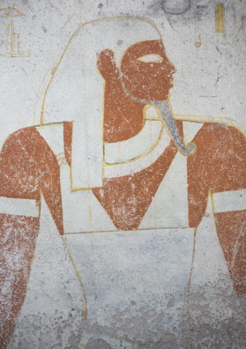 Sudan, Fourth Cataract, El Kurru, amseti in the burial chamber of the tomb of tanutamani
