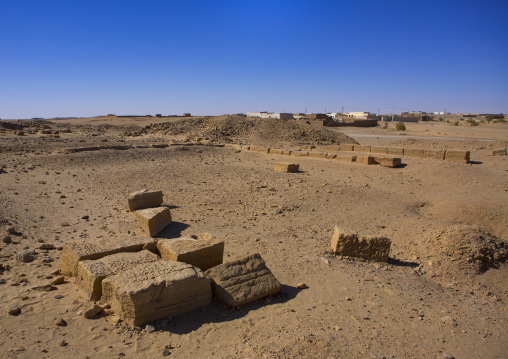 Sudan, Fourth Cataract, El Kurru, the royal cemetery