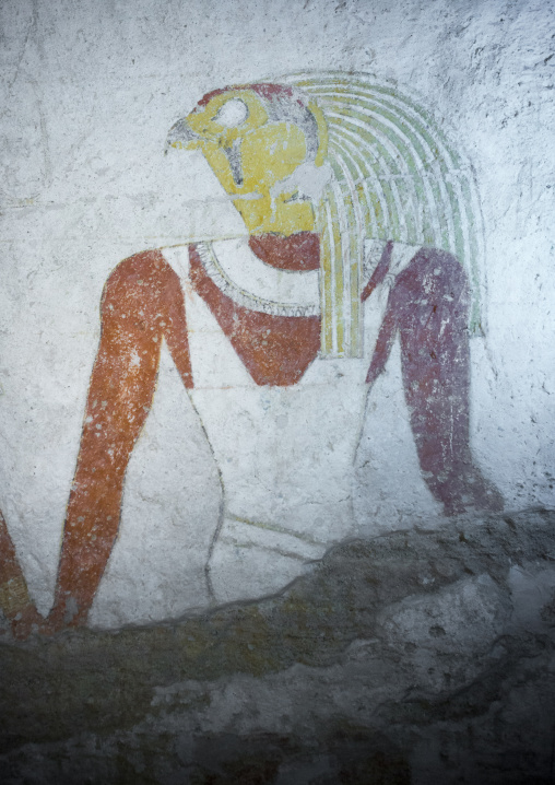 Sudan, Fourth Cataract, El Kurru, the tomb of qalhata