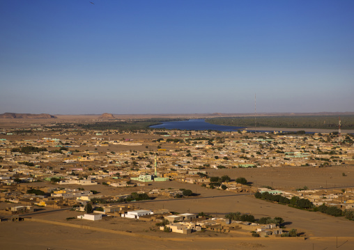 Sudan, Northern Province, Karima, karima town view