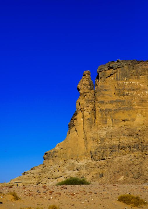 Sudan, Northern Province, Karima, holy mountain of jebel barkal