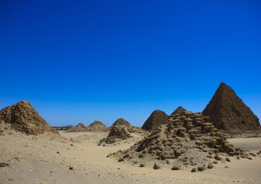 Sudan, Nubia, Nuri, royal pyramids of napata