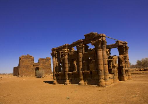 Sudan, Nubia, Naga, roman kiosk