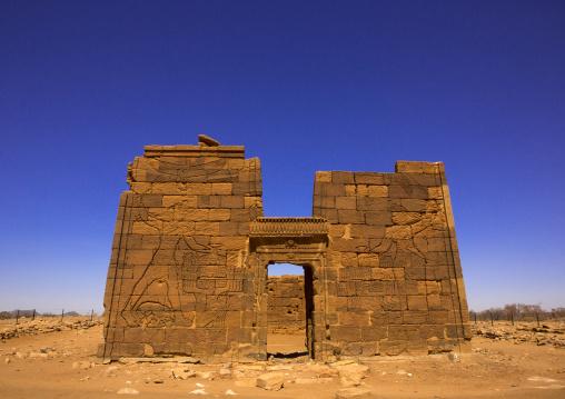 Sudan, Nubia, Naga, lion temple of apedemak, musawarat