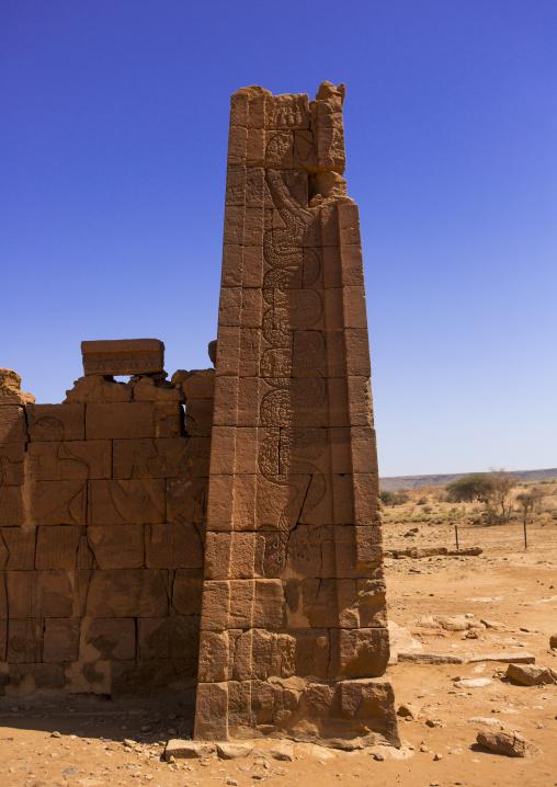 Sudan, Nubia, Naga, lion temple