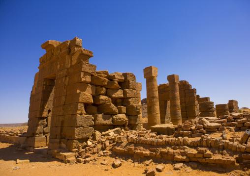 Sudan, Nubia, Naga, amun temple