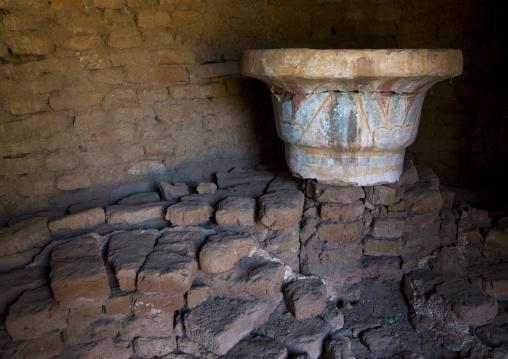 Sudan, Kush, Meroe, the royal baths in the royal city of meroe