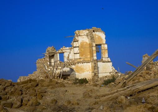 Sudan, Port Sudan, Suakin, ruined ottoman coral buildings