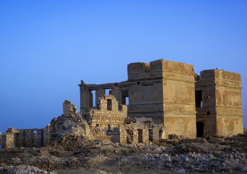Sudan, Port Sudan, Suakin, ruined national bank