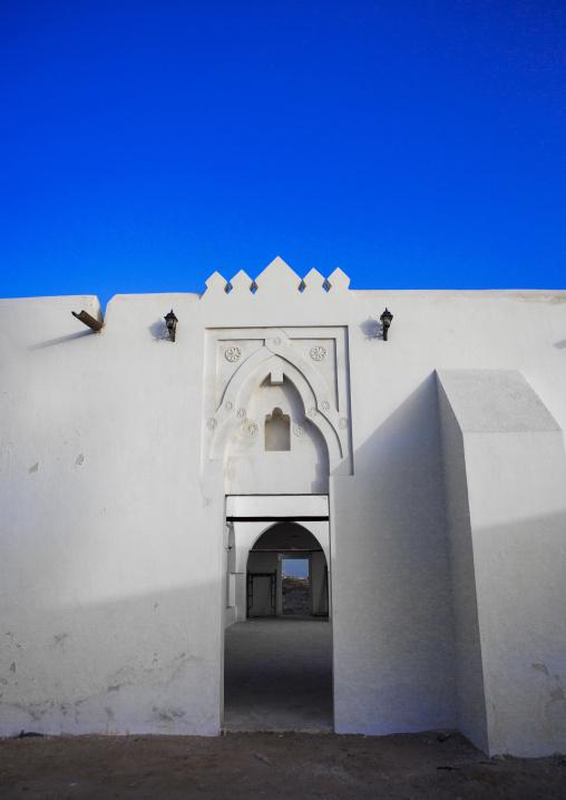 Sudan, Port Sudan, Suakin, shafai mosque entrance