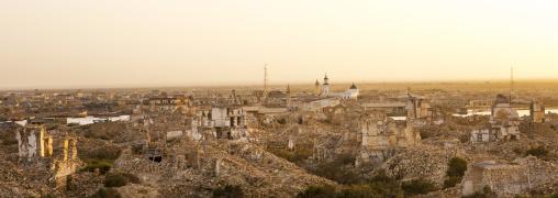 Sudan, Port Sudan, Suakin, panorama of the old town