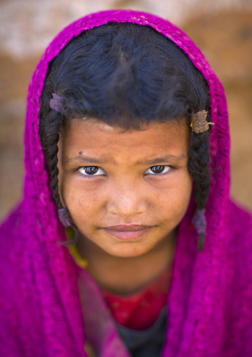 Sudan, Kassala State, Kassala, rashaida tribe girl