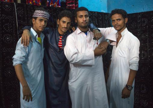 Sudan, Kassala State, Kassala, rashaida tribe men