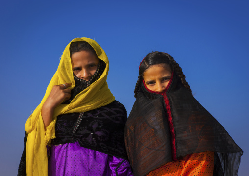Sudan, Red Sea State, Port Sudan, rashaida tribe girls