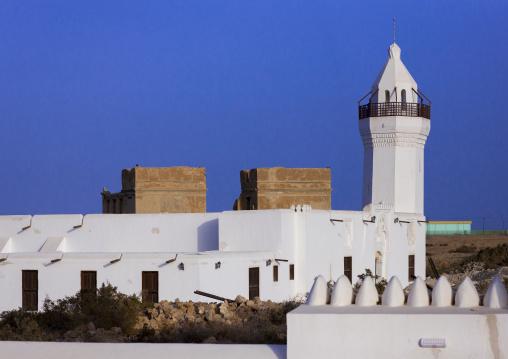 Sudan, Port Sudan, Suakin, the renovated shafai mosque