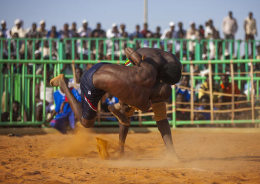 Sudan, Khartoum State, Khartoum, nuba wrestlers
