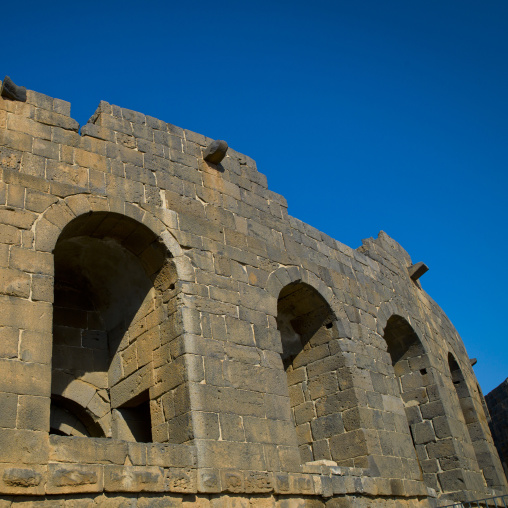 Roman Amphitheatre Walls, Bosra, Syria