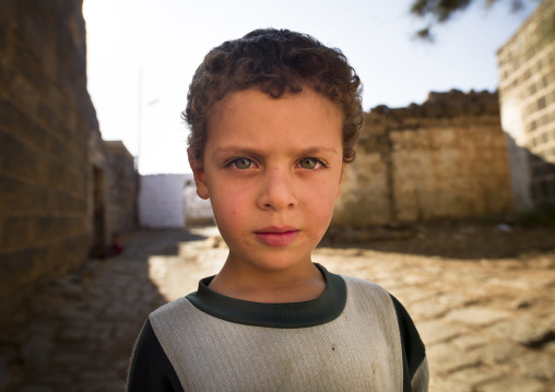 Boy In Bosra Old Town, Syria