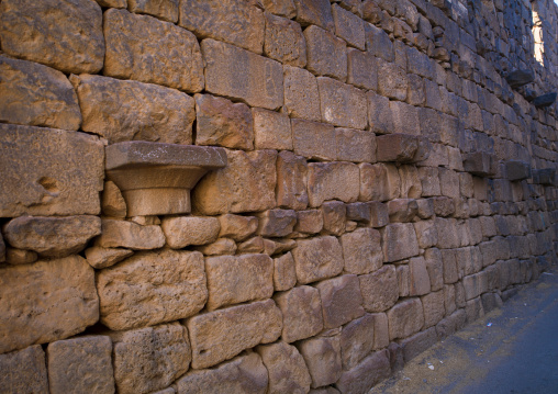 Wall In The Ancient City of Bosra, Syria