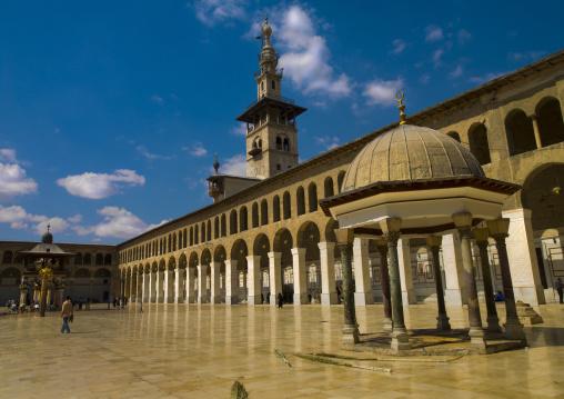 Umayyad Mosque Courtyard, Damascus, Damascus Governorate, Syria