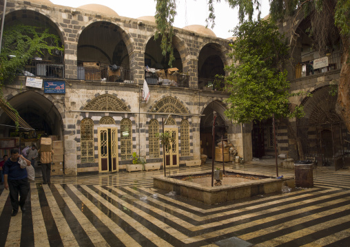 Old House Courtyard, Damascus, Syria