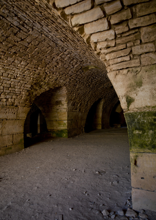 Inside the Crusader Fortress, Krak des Chevaliers, Homs, Syria
